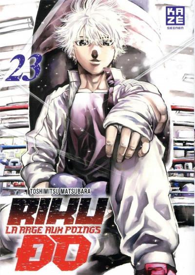 Couverture Rikudo - La rage aux poings tome 23