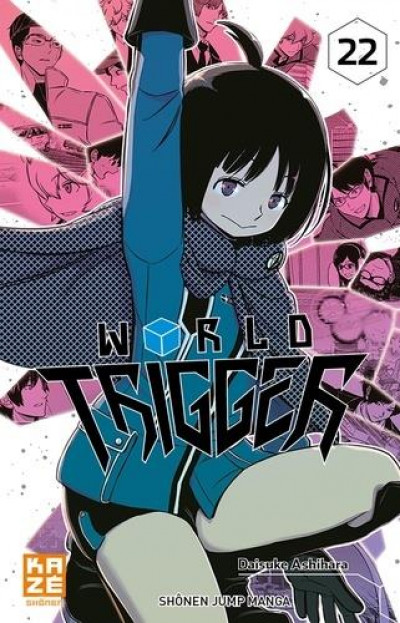 Couverture World trigger tome 22