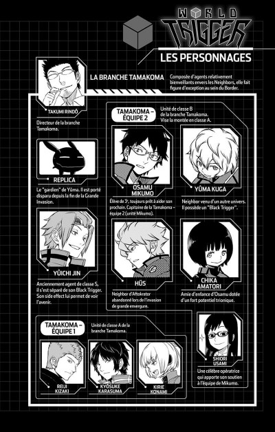 Page 5 World trigger tome 22