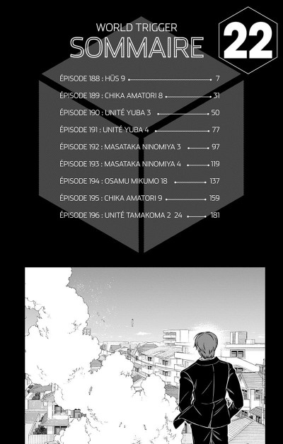 Page 7 World trigger tome 22