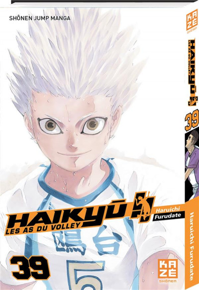Couverture Haikyu !! - Les as du volley tome 39
