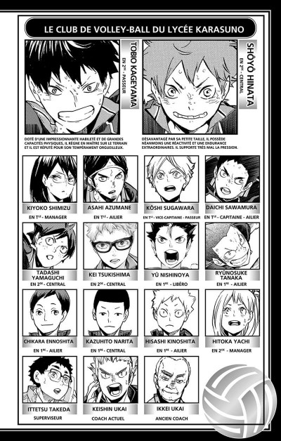 Page 3 Haikyu !! - Les as du volley tome 39