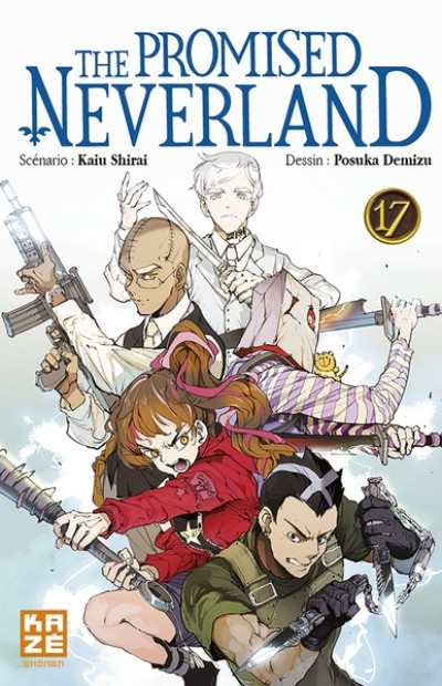 Couverture The promised Neverland tome 17
