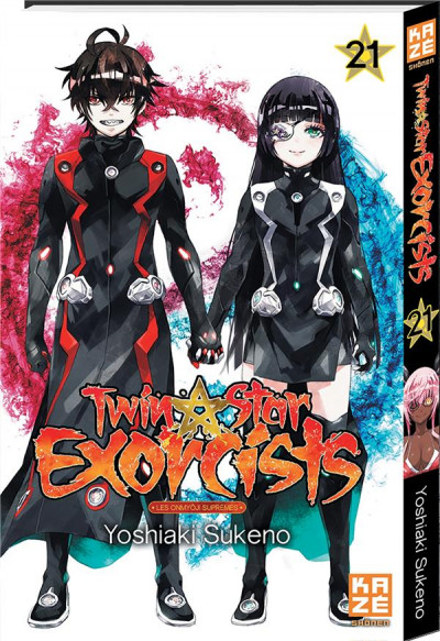 Couverture Twin star exorcists tome 21