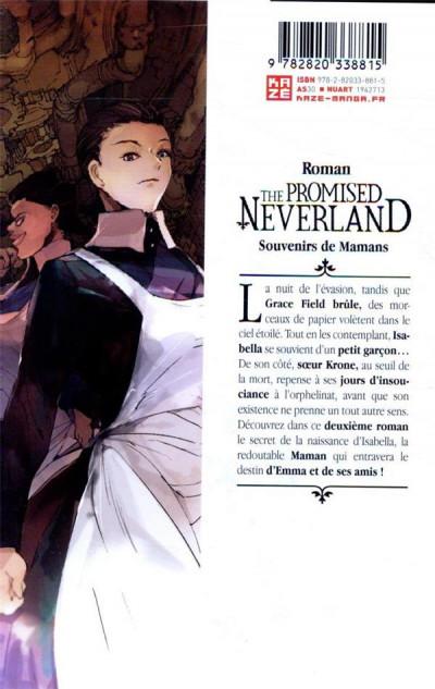Dos The promised neverland - Les souvenirs de Maman (roman)