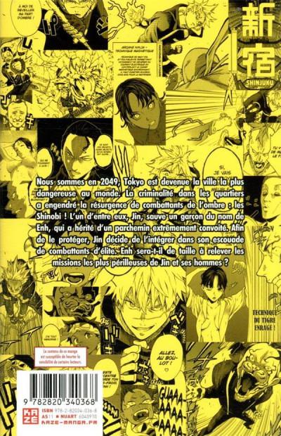 Dos Tokyo shinobi squad tome 1