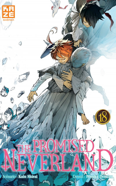 Couverture The promised neverland tome 18