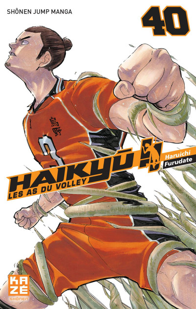 Couverture Haikyu !! - Les as du volley tome 40