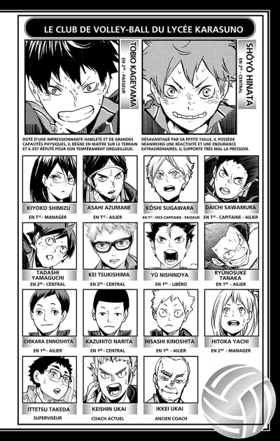 Page 3 Haikyu !! - Les as du volley tome 40