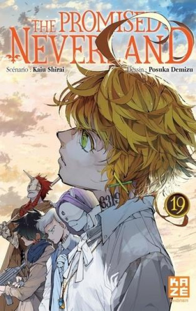 Couverture The promised Neverland tome 19