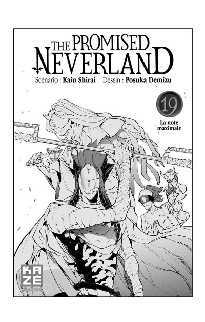 Page 2 The promised Neverland tome 19