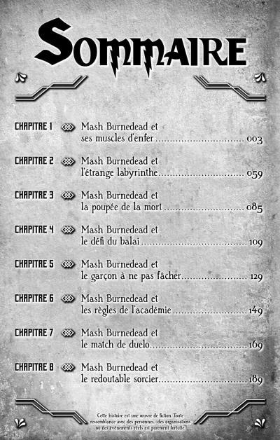 Page 3 Mashle tome 1