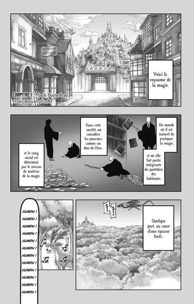 Page 4 Mashle tome 1