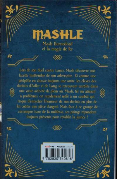 Dos Mashle tome 2