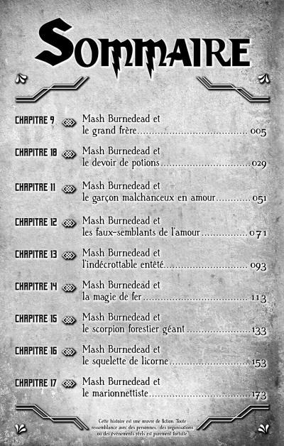 Page 5 Mashle tome 2