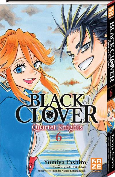 Couverture Black clover - Quartet knights tome 6