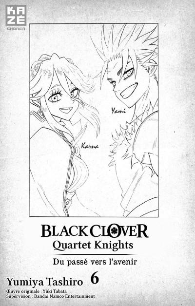 Page 2 Black clover - Quartet knights tome 6
