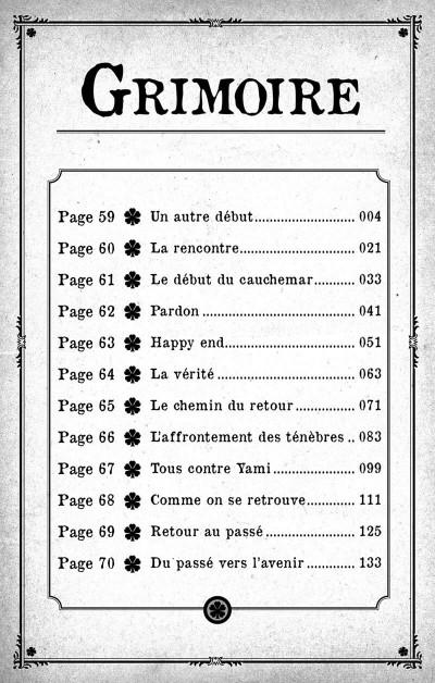 Page 3 Black clover - Quartet knights tome 6