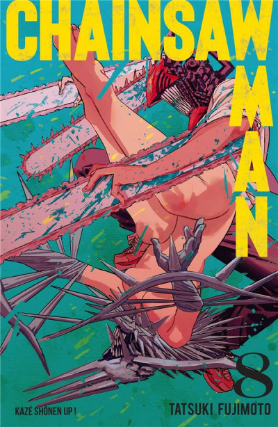 Couverture Chainsaw man tome 8