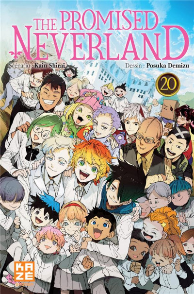 Couverture The promised neverland tome 20