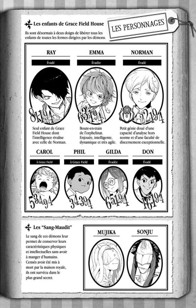 Page 3 The promised neverland tome 20