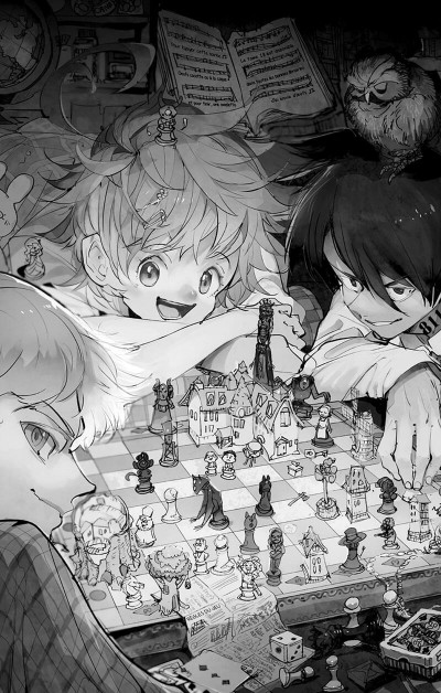Page 8 The promised neverland tome 20