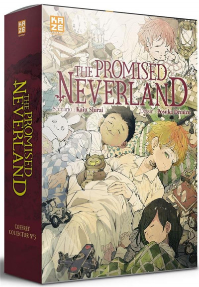 Couverture The promised neverland - coffret tome 20 + roman