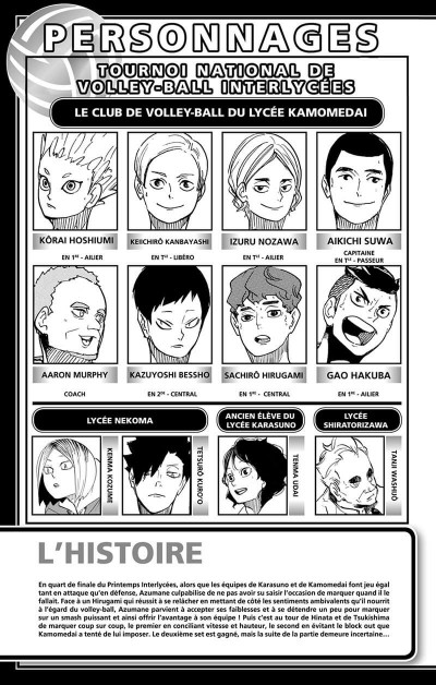 Page 4 Haikyu !! - Les as du volley tome 41