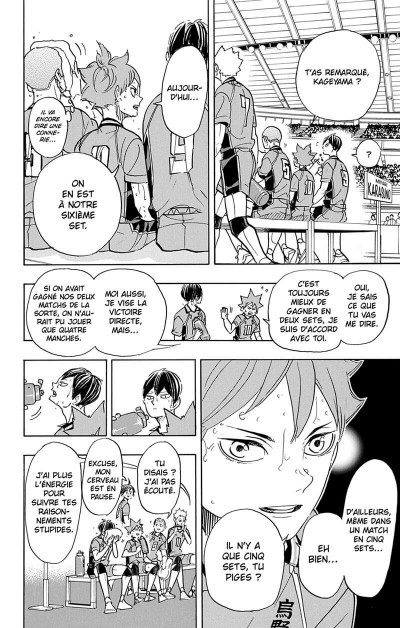 Page 9 Haikyu !! - Les as du volley tome 41