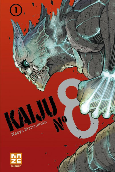 Couverture Kaiju n°8 tome 1