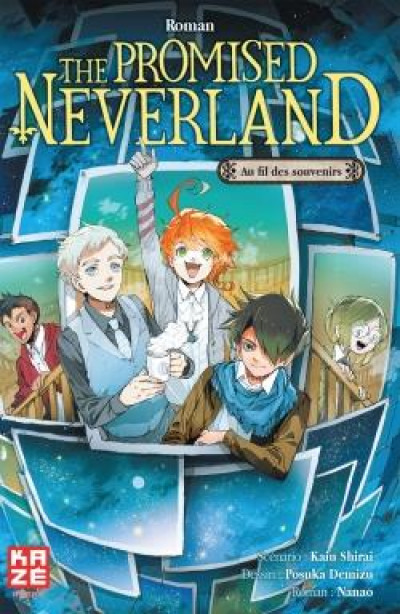 Couverture The promised neverland - roman tome 4