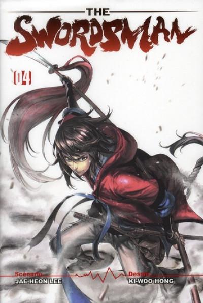 Couverture the swordsman tome 4