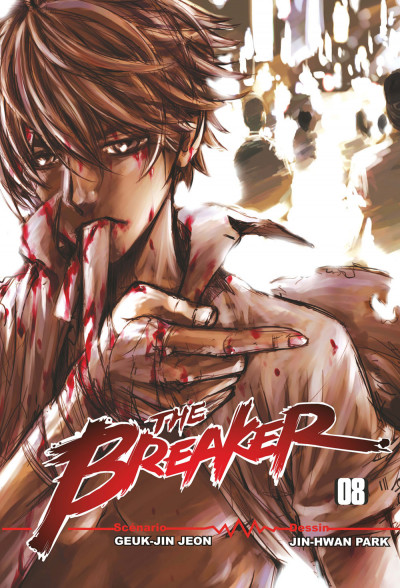 Couverture the breaker tome 8