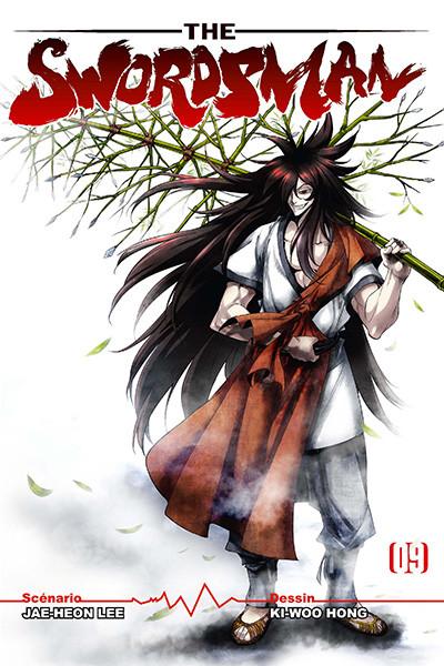 Couverture the swordsman tome 9