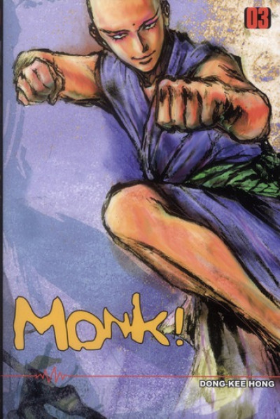 Couverture monk ! tome 3