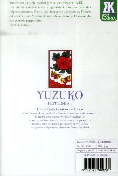 Dos Yuzuko peppermint tome 3