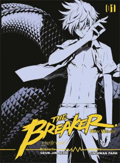 Couverture The breaker - new wave tome 1