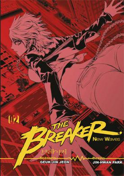 Couverture the breaker - new waves tome 2