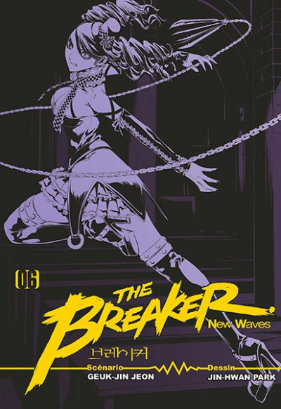 Couverture The breaker - new waves tome 6