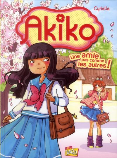 Couverture Akiko tome 1 - une amie pas comme les autres