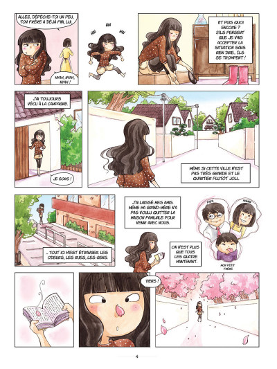 Page 2 Akiko tome 1 - une amie pas comme les autres