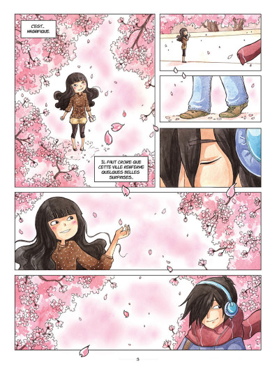 Page 3 Akiko tome 1 - une amie pas comme les autres