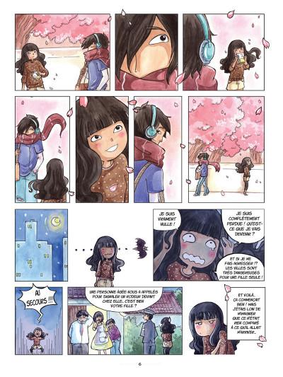 Page 4 Akiko tome 1 - une amie pas comme les autres