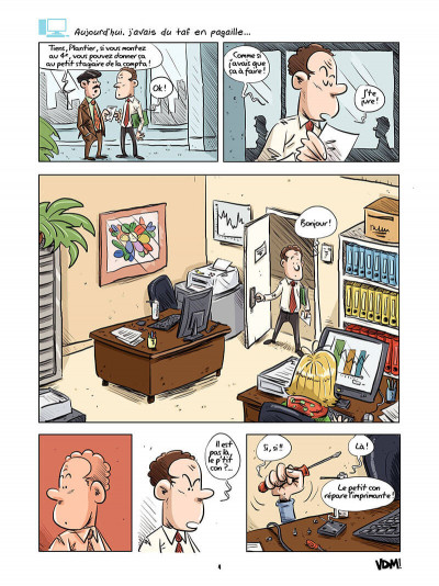 Page 3 vie de merde ; best of