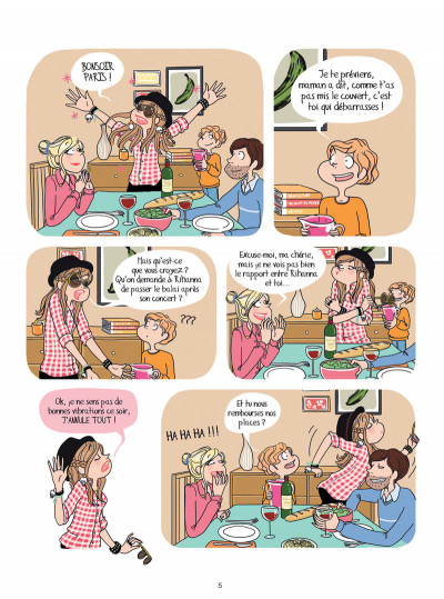 Page 3 Charlie, ma vie de star tome 1