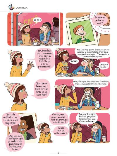 Page 4 Charlie, ma vie de star tome 1