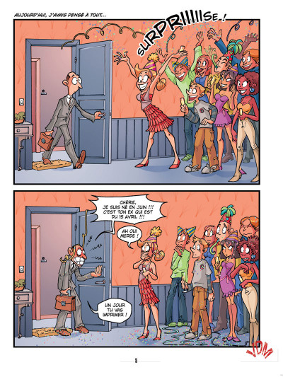 Page 3 vie de merde tome 9 - les ex