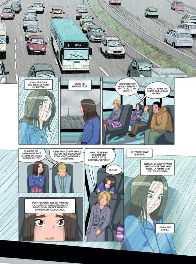 Page 1 danse ! tome 4 - l'oiseau de la chance