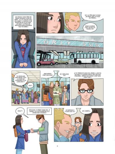 Page 2 danse ! tome 4 - l'oiseau de la chance