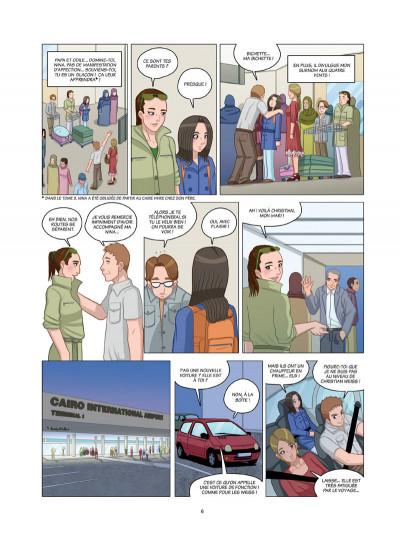 Page 4 danse ! tome 4 - l'oiseau de la chance